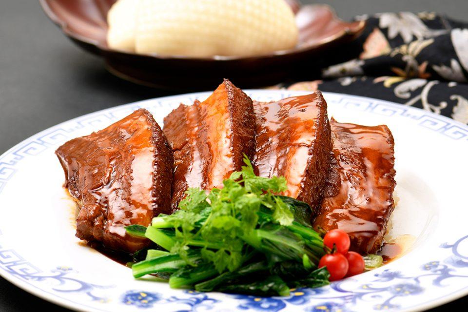 状元樓の豚バラ肉の醤油煮込み