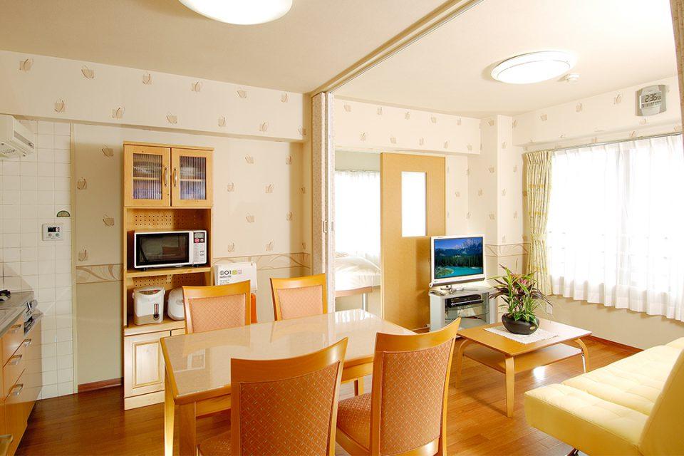 横浜ウィークリーのファミリールーム