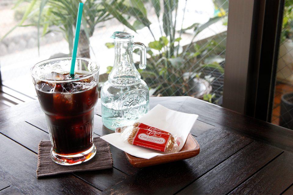 バニヤンツリーコーヒーハウスの有機栽培アイスコーヒー