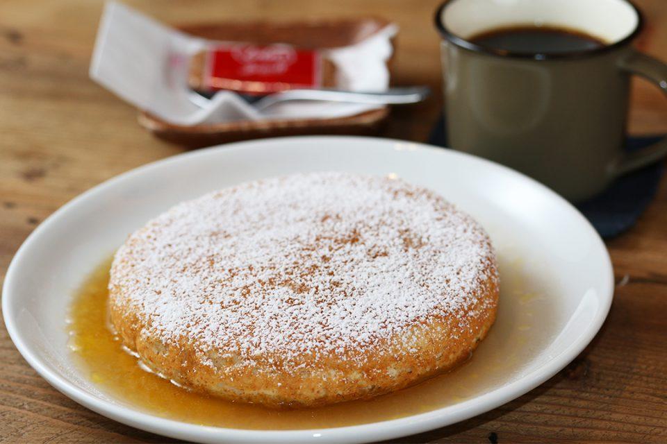 バニヤンツリーコーヒーハウスのオリジナルパンケーキ