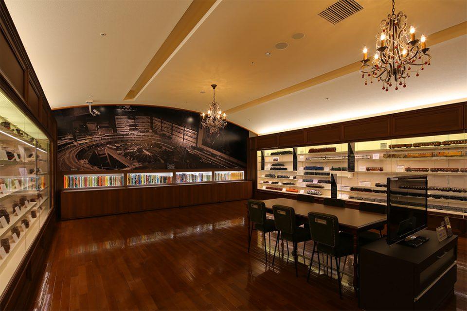 原鉄道模型博物館の第二展示室