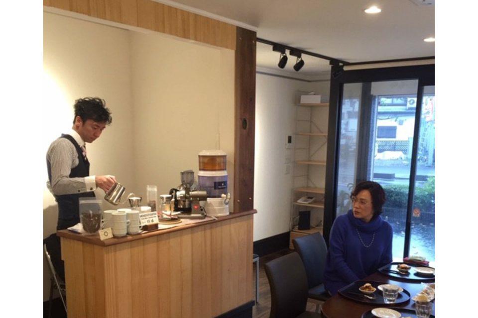 ぎゃらりー桜株のカフェ1