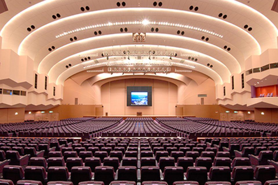 パシフィコ横浜国立大ホール客席(1階席)