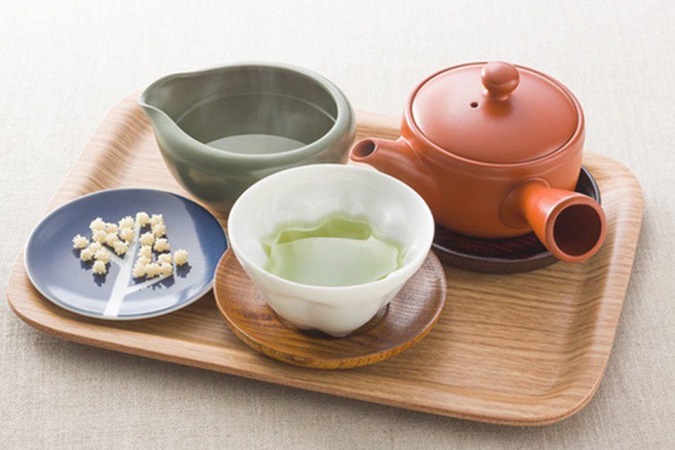 彫刻の森美術館の日本茶セット