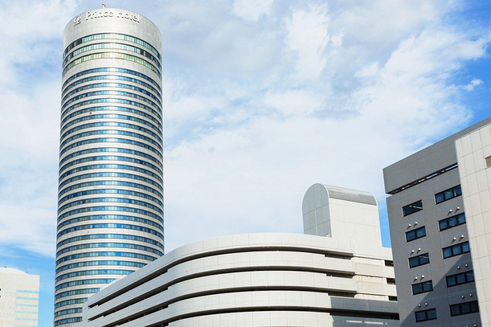 新横浜プリンスホテルの外観