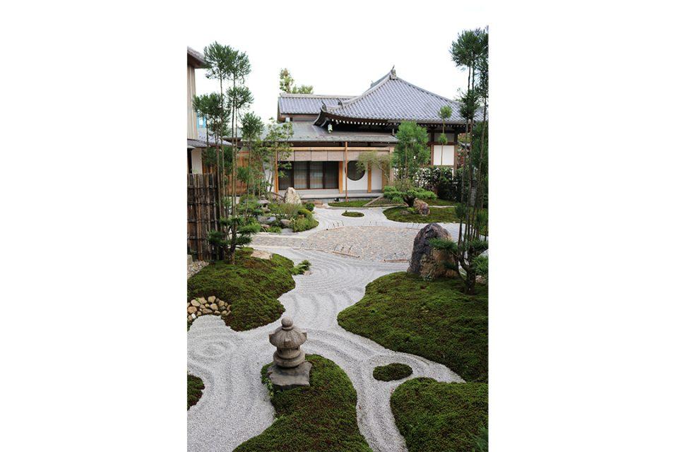 長谷寺の書院庭園