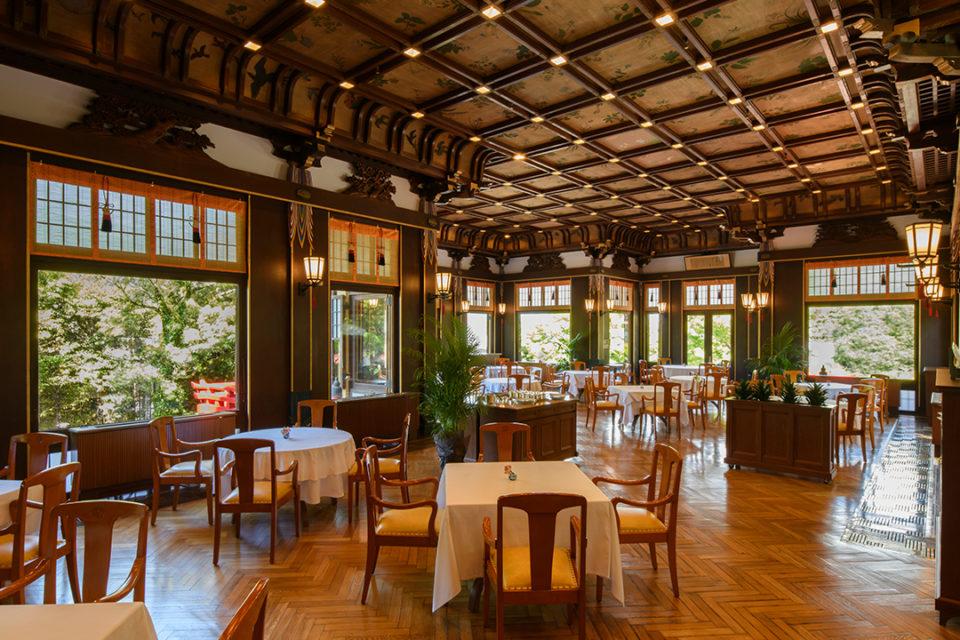 富士屋ホテルのメインダイニングルーム・ザ・フジヤ