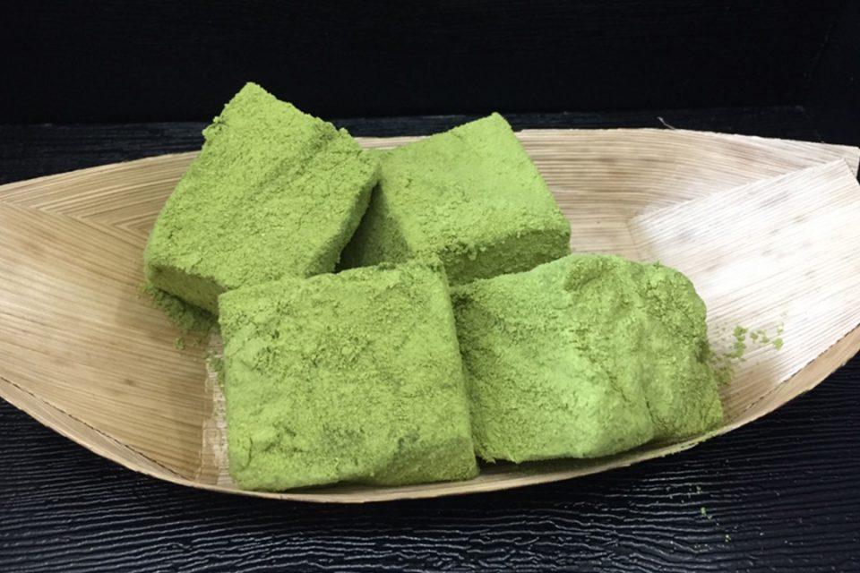 団子・和菓子竹やの抹茶わらび餅
