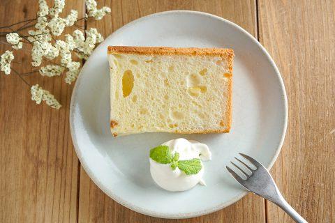 カフェルオントのシフォンケーキ