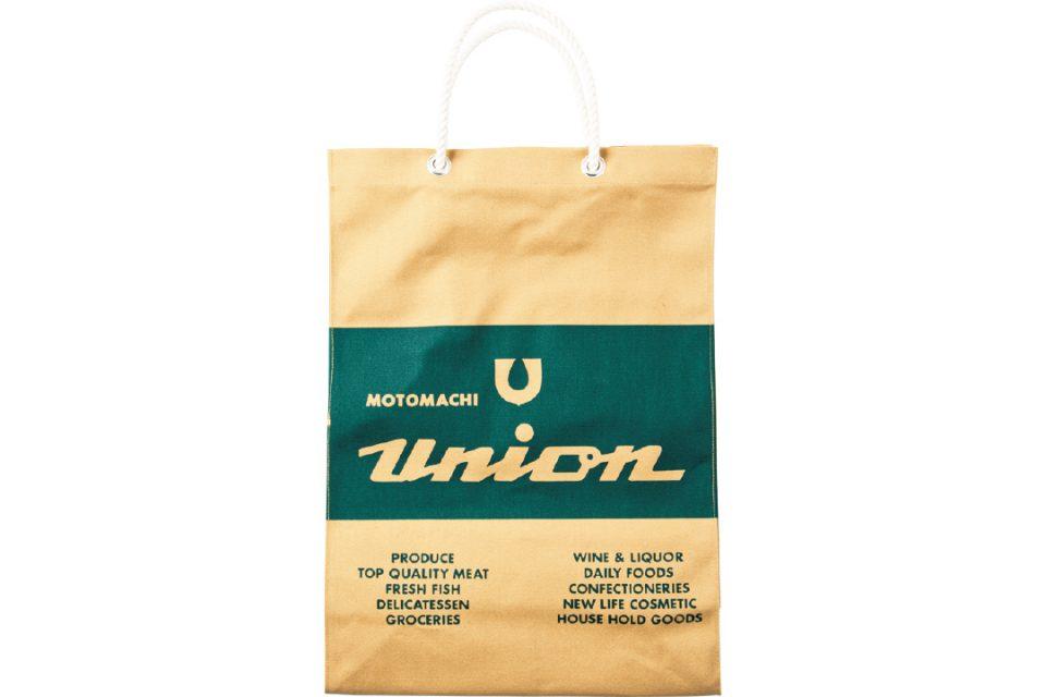 もとまちユニオン元町店のエコバッグ