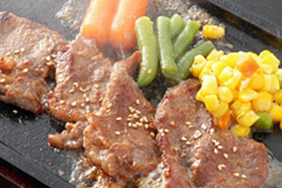 四季彩の米沢牛の味噌焼肉