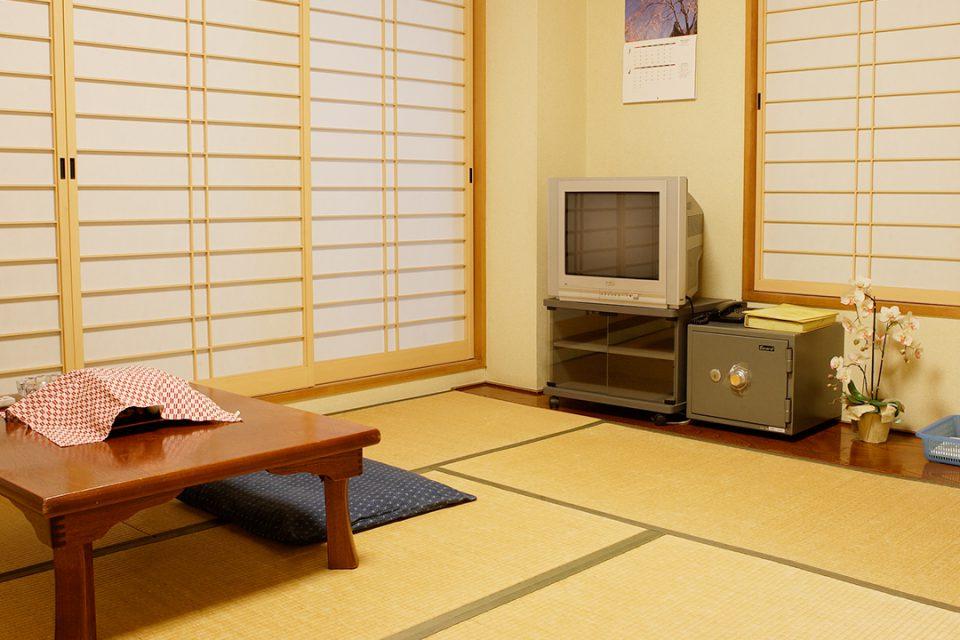 かきや旅館の客室