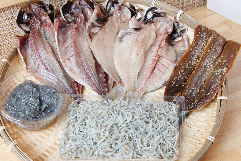 鎌倉魚市場(鮮魚平勝)の干物