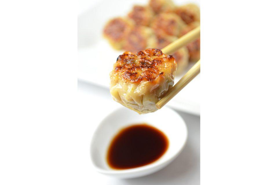 四五六菜館新館の手毬餃子