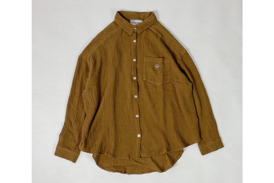 キーメモリーのシャツ