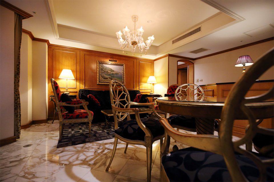 鎌倉パークホテルの客室洋スイート