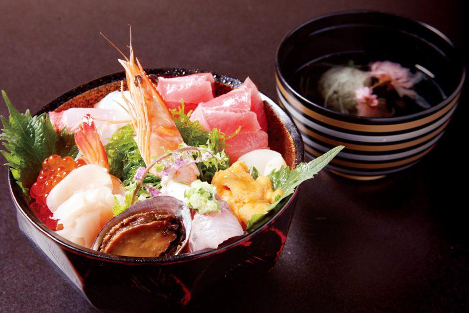 だるま料理店の海鮮丼
