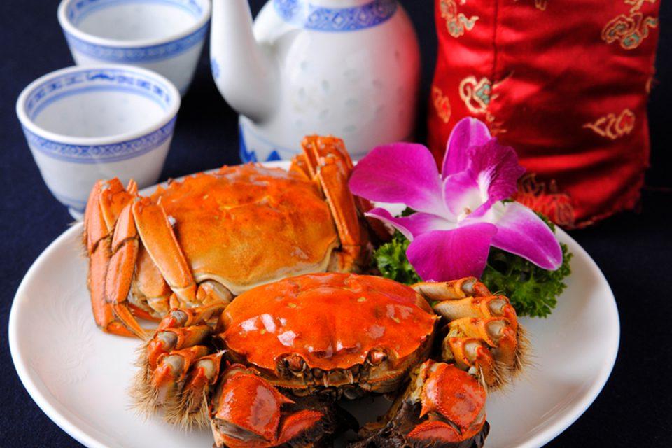 三和楼の上海蟹