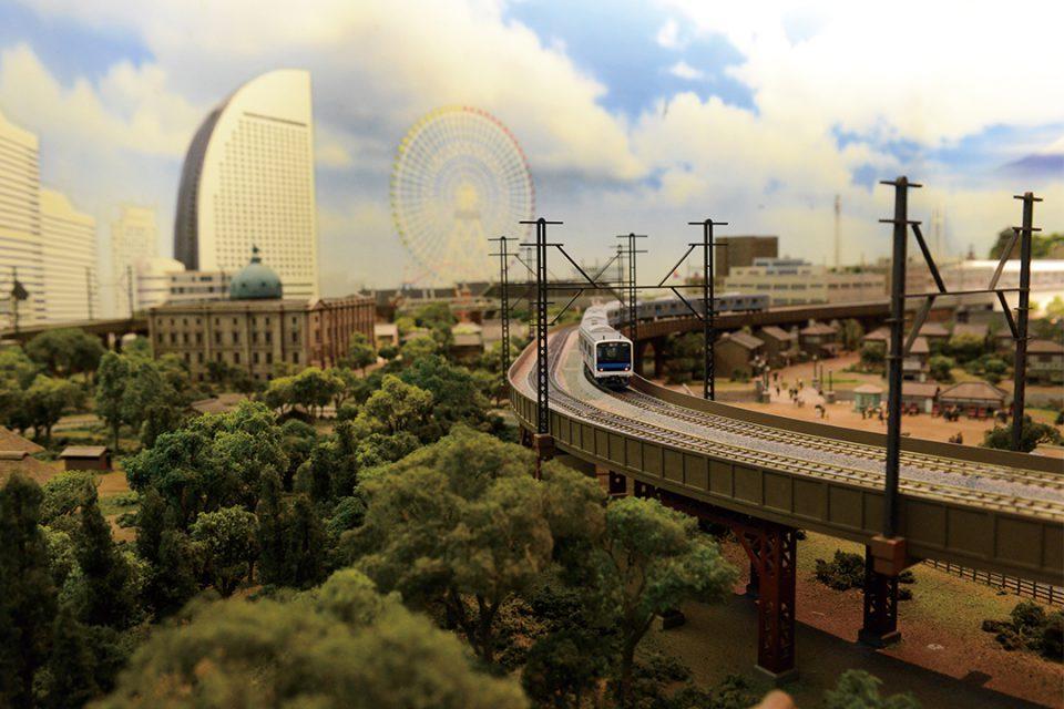 原鉄道模型博物館の横浜ジオラマ