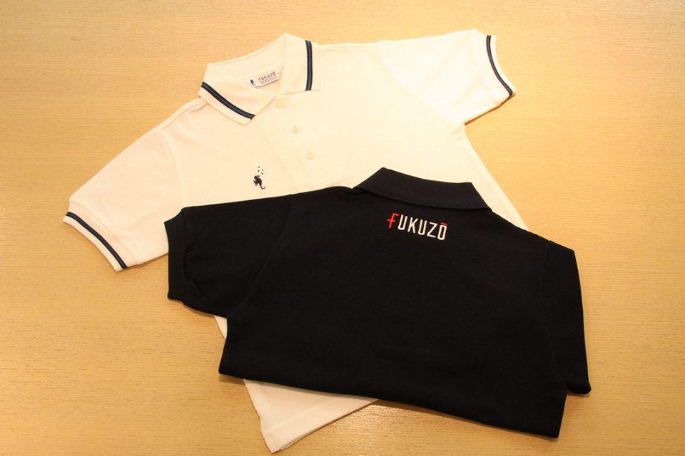 フクゾー洋品店のポロシャツ