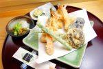 天ぷらひろみの天ぷら盛り合わせ