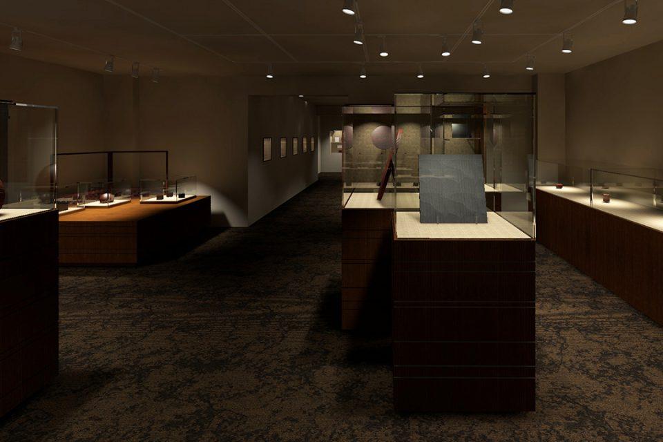 鎌倉彫資料館の内観1