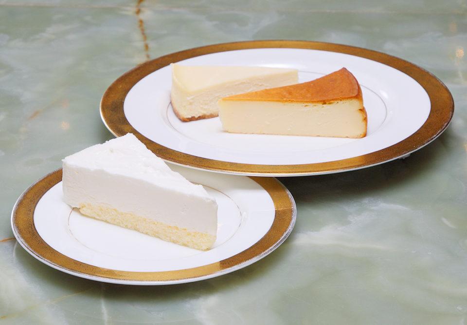 コーヒーの大学院ルミエール・ド・パリのチーズケーキ