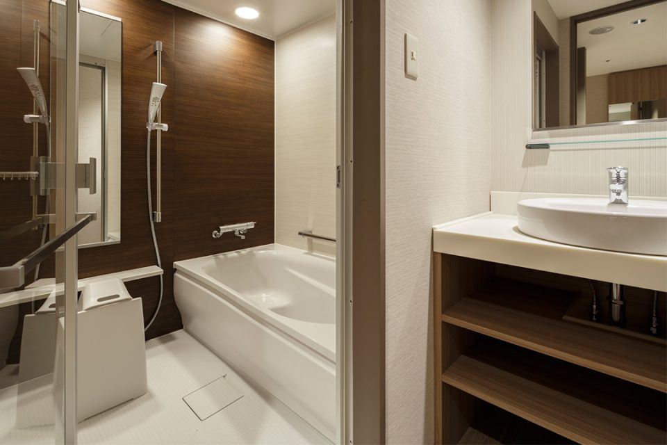 ホテルビスタプレミオ横浜のバスルーム