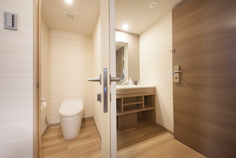 リッチモンドホテル横浜駅前のバスルーム
