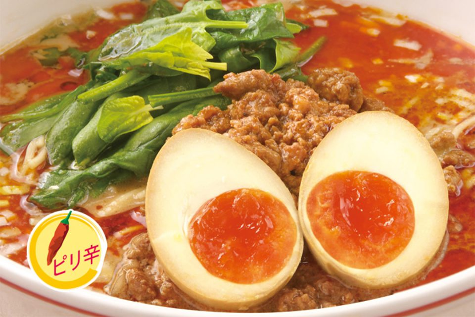 匠の味玉のせ担担麺