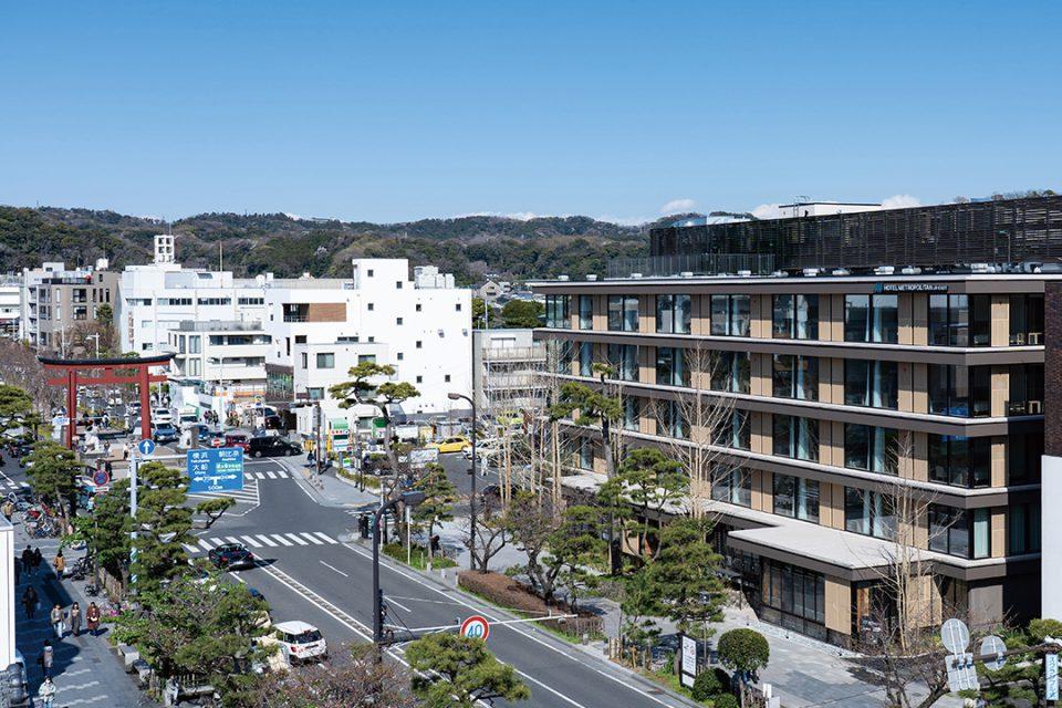 ホテルメトロポリタン鎌倉の外観