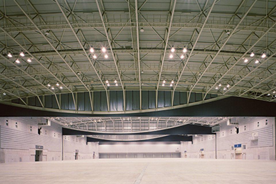 パシフィコ横浜展示ホール内