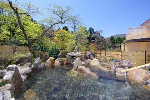 箱根高原ホテルの露天風呂