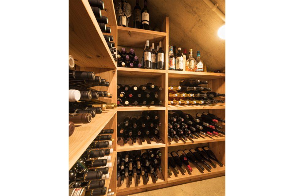 ステレオカマクラのワインセラー