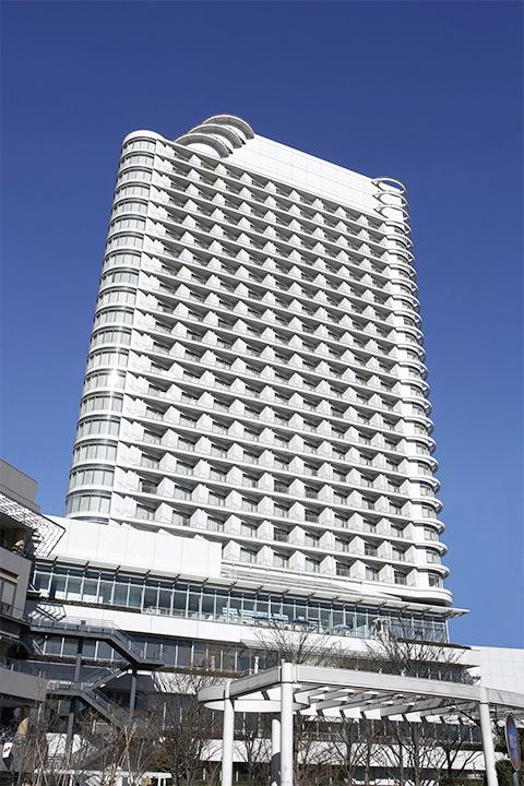 横浜ベイホテル東急外観