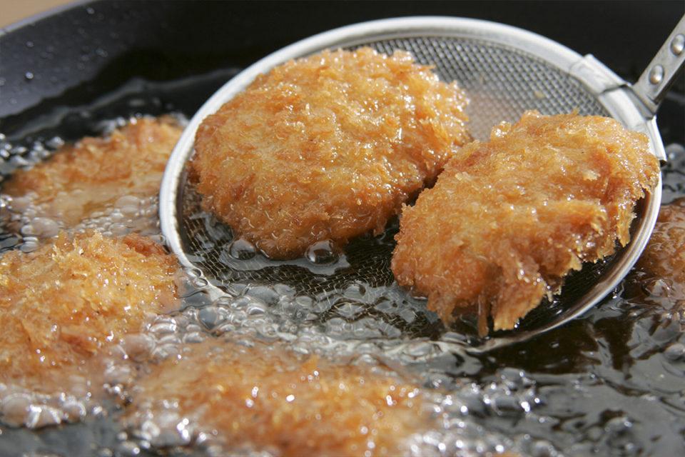 鎌倉コロッケのコロッケの調理