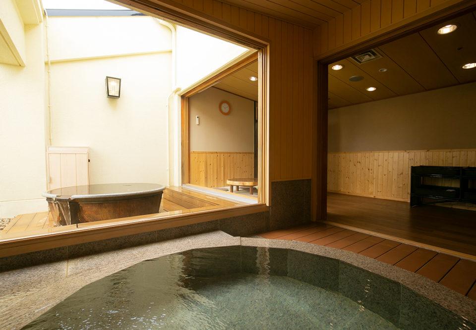 森の湯の貸切風呂
