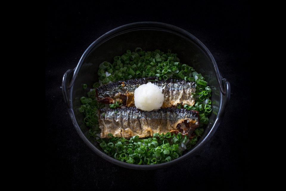 魚喰まつもとの料理