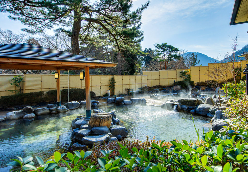 森の湯の露天風呂