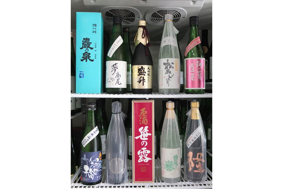 清水食料品店の純米酒
