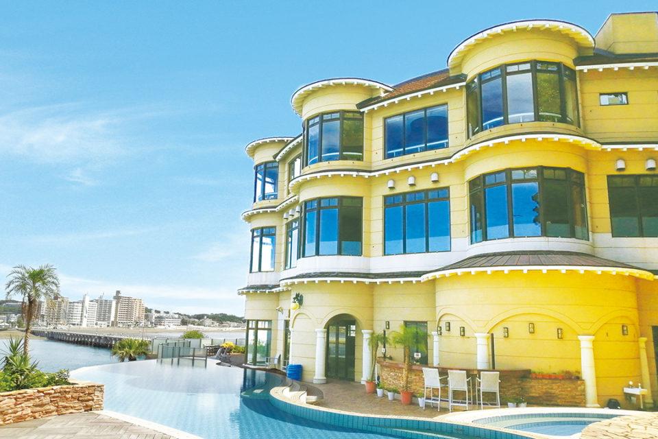 江の島ホテルの外観
