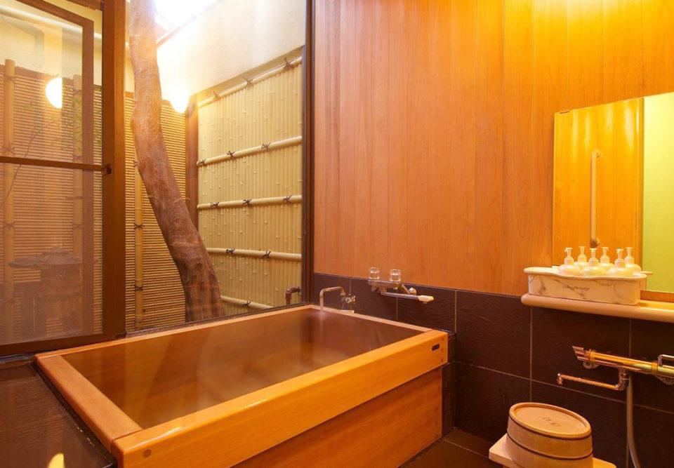 玉庭の客室風呂