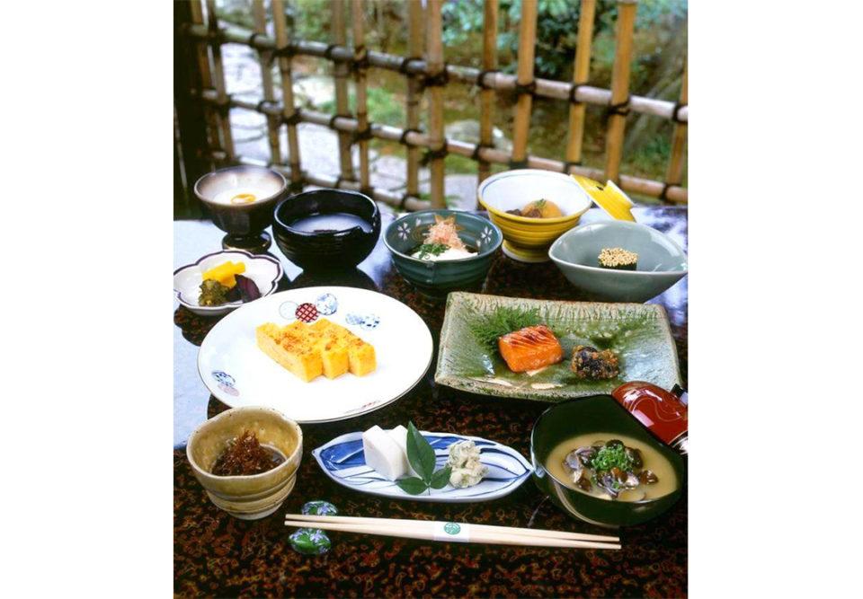 玉庭の朝食