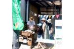 鎌倉・小町の路地裏マルシェの様子