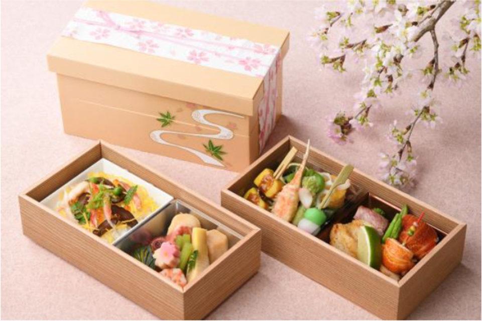新横浜プリンスホテルの和食弁当 花日和