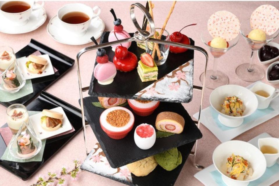 新横浜プリンスホテルのSAKURA STRAWBERRY AFTERNOON TEA