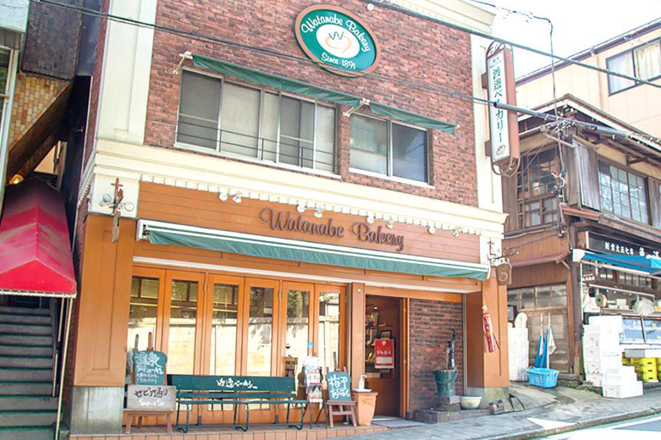 渡邊ベーカリーの店舗外観