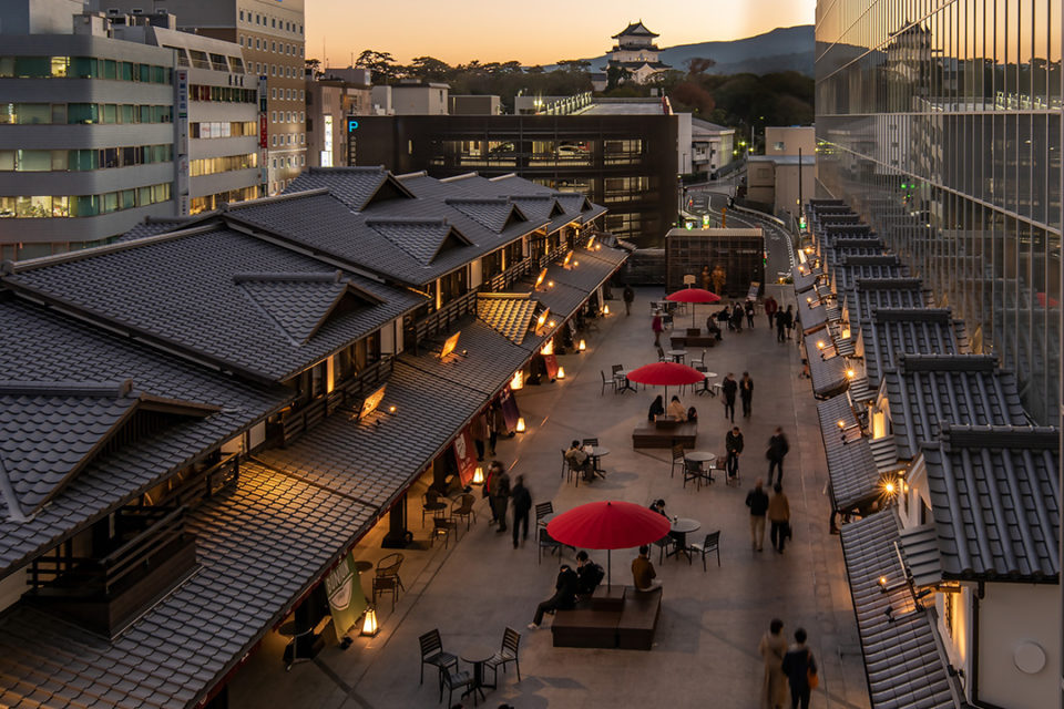 金次郎広場