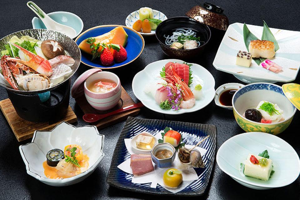 箱根水明荘の料理