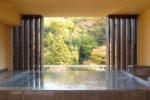 箱根水明荘の天空露天風呂 月見の湯